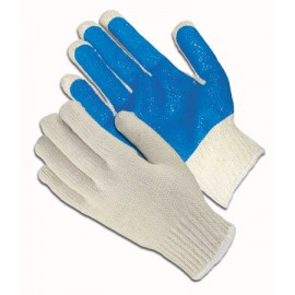 Seamless Knit with PVC Palm Coating Glove - 10 Gauge 12 Pairs