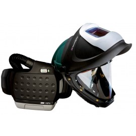 3M™ Adflo™ PAPR with 3M™ Hard Hat L-705SG, 34-0705-SGXX, Li Ion Batt, Welding Shield, Wideview Faceshield, ADF 9100XX