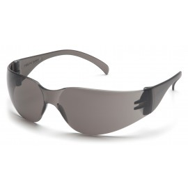 Pyramex Mini Intruder - Gray Frame/Gray-Hardcoated Lens Polycarbonate Safety Glasses - 12 / BX