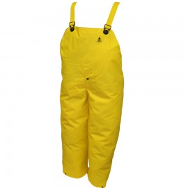 Tingley O56107.SM DuraScrim Overall Yellow Snap Fly Front