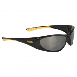 DEWALT Gable - Silver Mirror Lens Safety Glasses Full Frame Style Black Color - 12 Pairs / Box