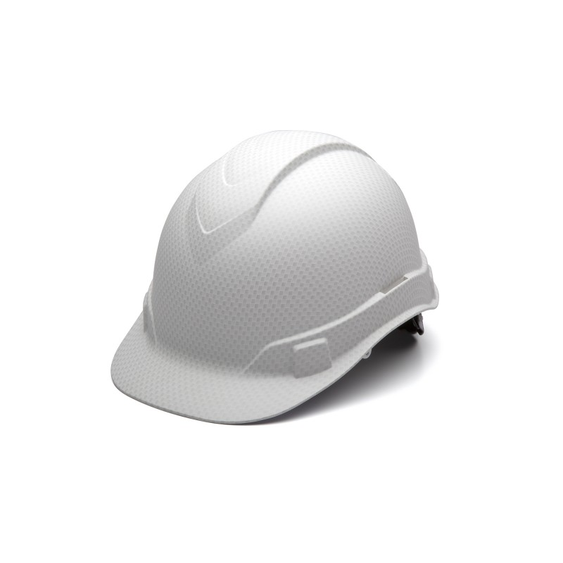 Pyramex HP44116 Ridgeline Hard Hat One Size ABS White Graphite Color 1 EA
