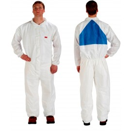 3M Disposable Protective Coverall Safety Work Wear 4540+CS-BLK-M 25 EA/Case