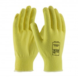 PIP 16-318/XS G-Tek Seamless Knit PolyKor Blended Glove with Polyurethane Coated Smooth Grip on Palm & Fingers XS 6 DZ