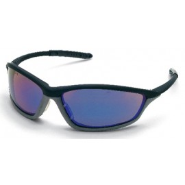MCR Shock Safety Glasses Blue Diamond Lens 1/DZ