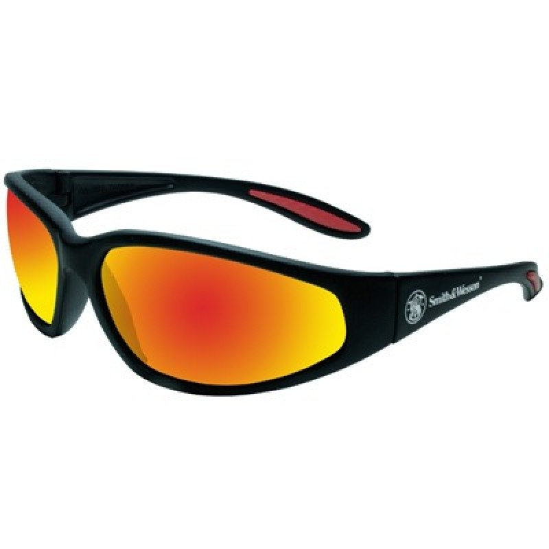Jackson Safety Smith and Wesson 38 Special Safety Glasses with Red Mirror Lens 12 Pairs