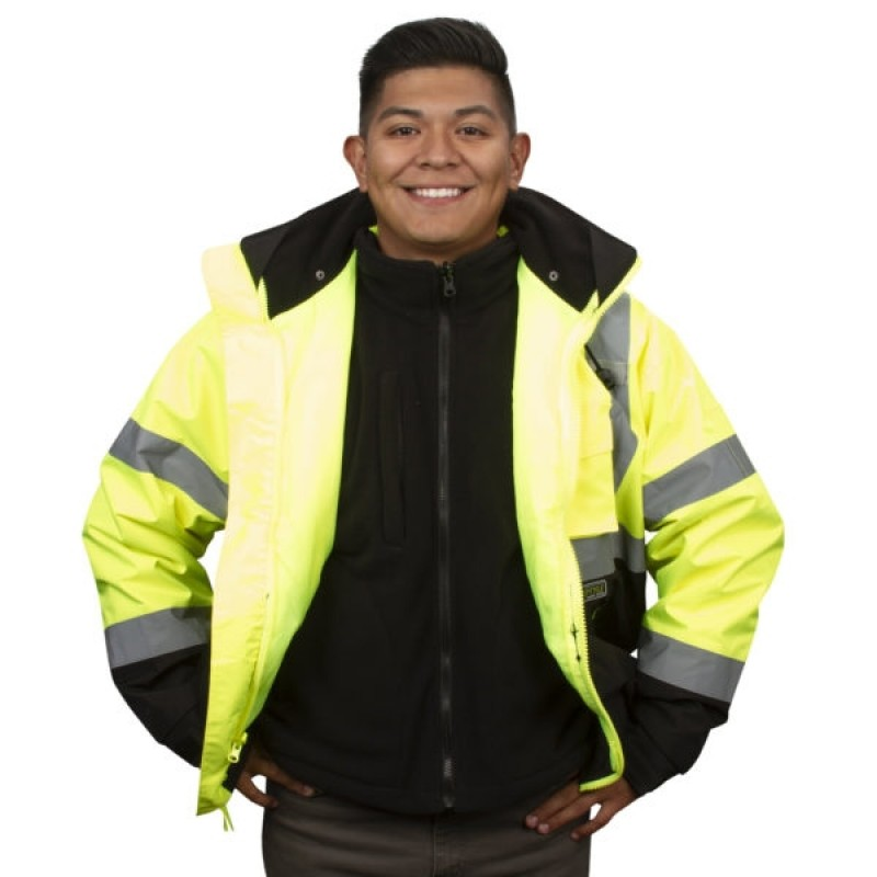 Cordova J301 Reptyle™, Bomber, 3-in-1,Type R, Class 3 Jacket