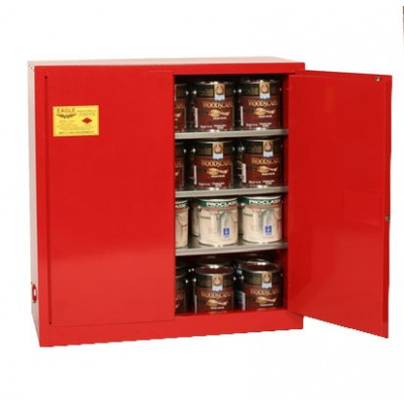 Ink And Paint Safety Storage Cabinet 40 Gallon Eagle