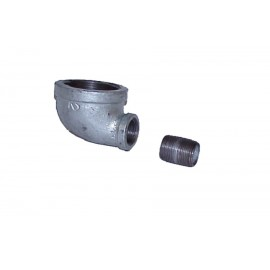 "Justrite Cast-iron EL Fitting for Mounting Drum Vent No. 08101 or 08005 in 3/4"" bung"