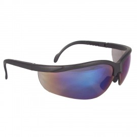 Journey Safety Glasses with Blue Mirror Lens