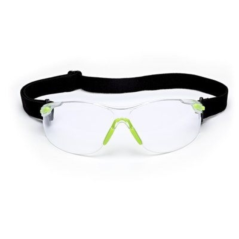 3M Solus 1000-Series Safety Glasses S1201SGAF-KT Kit Foam Strap Green-Black  ... 63701dd6cd78