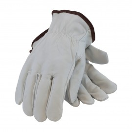 PIP Economy Grade Top Grain Leather Driver's Glove - Keystone Thumb