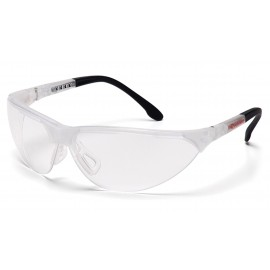 Pyramex Safety - Rendezvous - Crystal Clear Frame/Clear Lens Polycarbonate Safety Glasses - 12 / BX