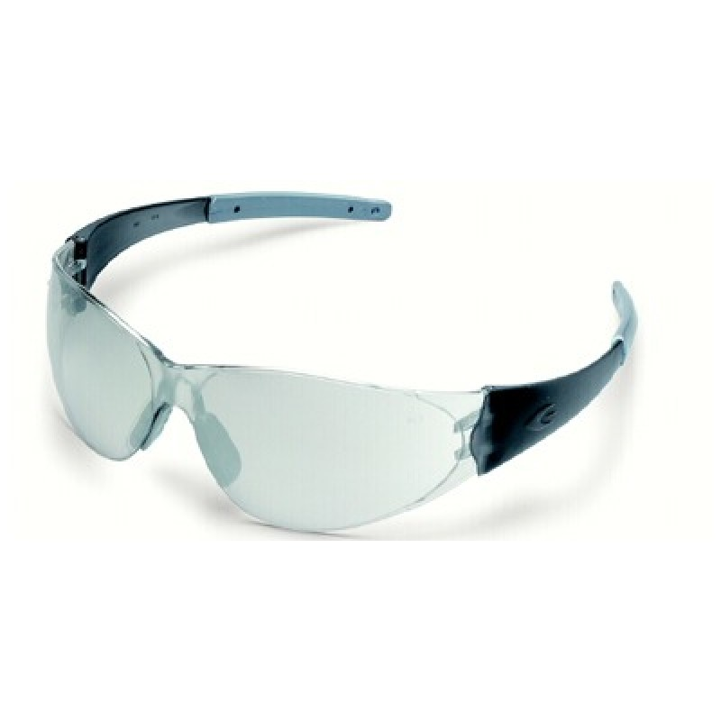 Checkmate 2 Safety Glasses with Smoke Temples and 1236 Mirror Lens
