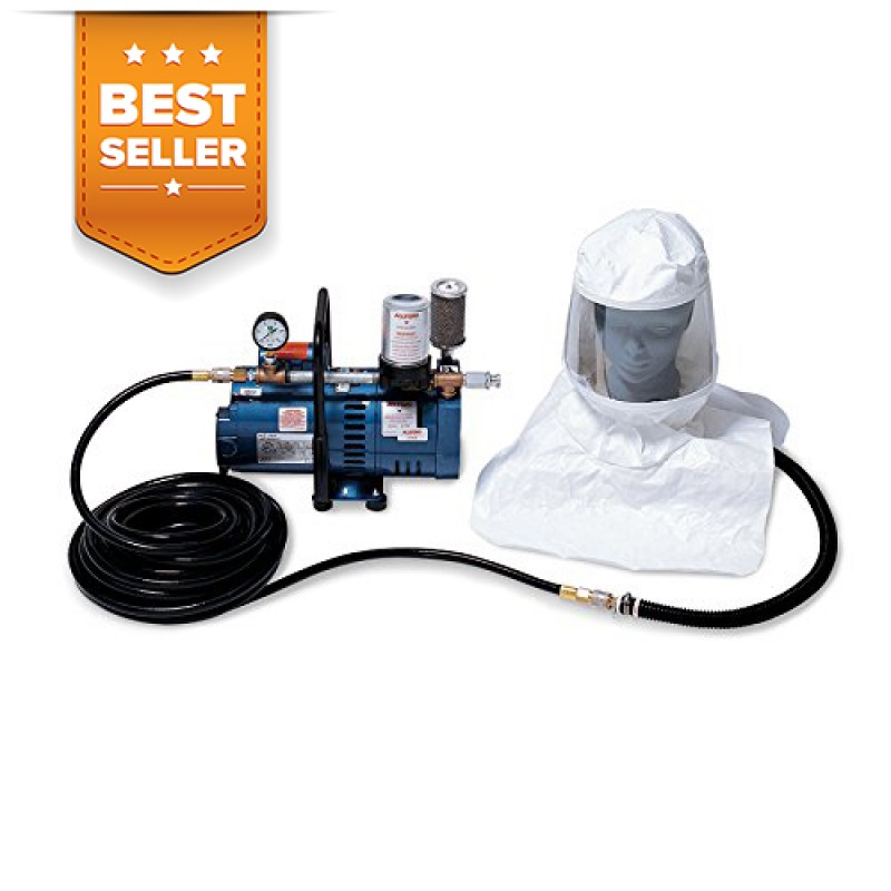 Allegro 9220-01 Supplied Air Respirator System-One Man Hood