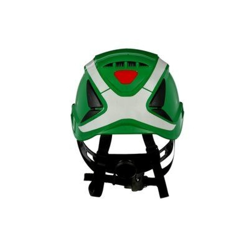 3M™ SecureFit™ Safety Helmet, X5004VX-ANSI,  Green, vented (Case of 4)