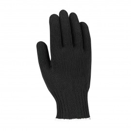 PIP 22-600BKL Kut Gard Seamless Knit PolyKor Blended Antimicrobial Glove Heavy Weight Large 24 EA