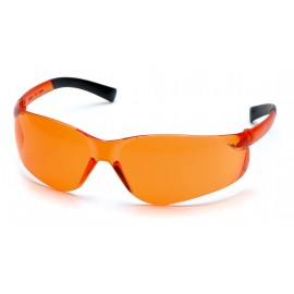 Pyramex Safety - Ztek - Orange Frame/Orange Lens Polycarbonate Safety Glasses - 12 / BX