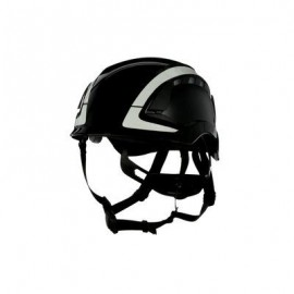3M™ SecureFit™ Safety Helmet, X5012VX-ANSI,  Black, vented (Case of 4)