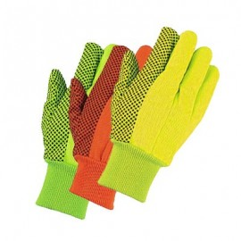 MCR 8808 Hi Vis Cotton Canvas Glove - 12 Pairs