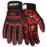 MCR Flex Tuff Multi Task Ansi Cut 4 TPR Back of Hand Protection Glove (1 Pair)