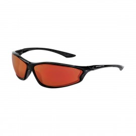 Radians KP6 Red Mirror Black Safety Glasses 12 PR/Box