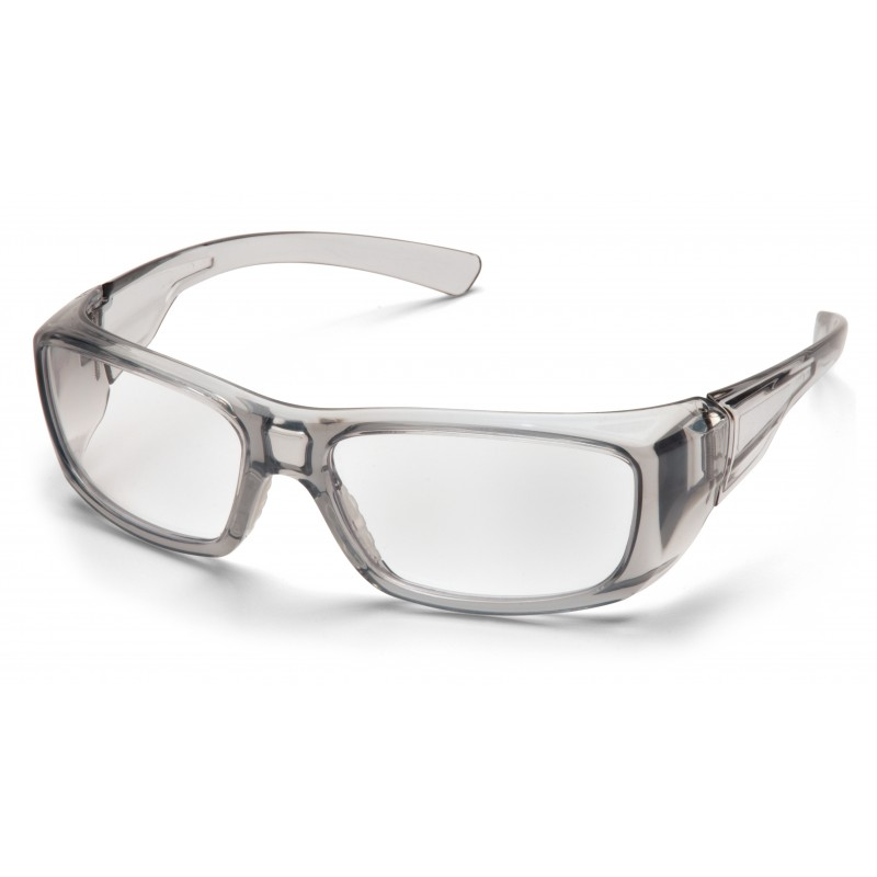Pyramex Safety - Emerge - Gray Frame/Clear Lens Polycarbonate Safety Glasses - 12 / BX