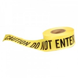 Presco Barricade Tape - CAUTION DO NOT ENTER