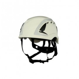 3M™ SecureFit™ Safety Helmet, X5001VX-ANSI,  White, vented (Case of 4)