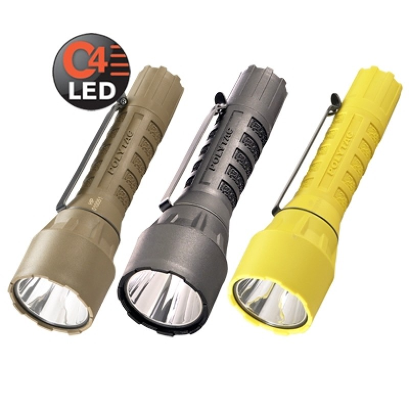 Streamlight PolyTac HP with lithium batteries (1 EA)