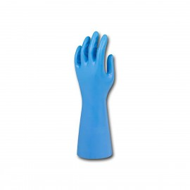 """Nitrile Blue14ml 13"""" Unlined Glove-Large 12 Pairs"""