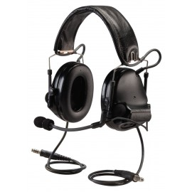 Peltor ComTac III ACH Communication Headset, Dual Comm, Headband w/ PRR - FOLIAGE GREEN
