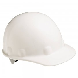 Honeywell Fibre-Metal E-2 Cap E2RW01A000 Ratchet Cap Style Hard Hat  White