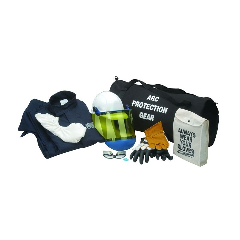 8 CAL Jacket And Pants Arc Flash Clothing Kit