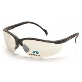 Pyramex Safety - V2 Readers - Black Frame/Indoor/Outdoor Mirror + 2.5 Lens Polycarbonate Safety Glasses - 6 / BX