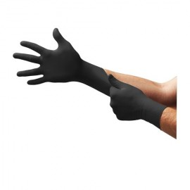 MicroFlex MK-296 Midknight Black Disposable Glove 4.7 Mil  (100/Box)