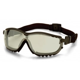 Pyramex Safety - V2G - Black Frame/Indoor/Outdoor Mirror Anti-Fog Lens Polycarbonate Safety Glasses - 12 / BX