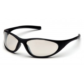 Pyramex Safety - Zone II - Matte Black Frame/Indoor/Outdoor Mirror Lens Polycarbonate Safety Glasses - 12 / BX