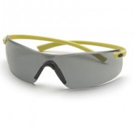 Pyramex Montego Safety Glass - Gray Lens with Hi-Vis Temples