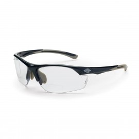 Radians AR3 Reader 2.5 Clear Gray Safety Glasses Frameless Gray 12 PR/Box