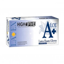 Latex Exam Glove w/Aloe-Small 10/BX
