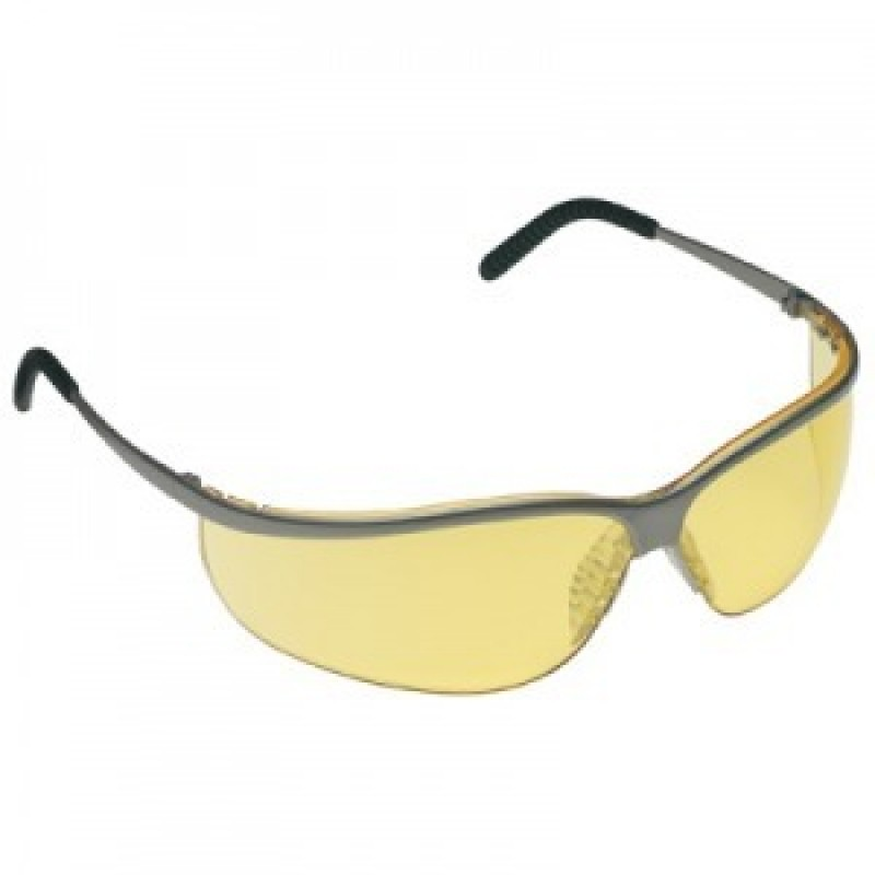 c44fce7a62d AO Safety Metaliks Sport Safety Glasses - Amber Anti-Fog Lens