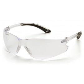Pyramex  Itek  Clear Frame/Clear AntiFog Lens  Safety Glasses  12/BX