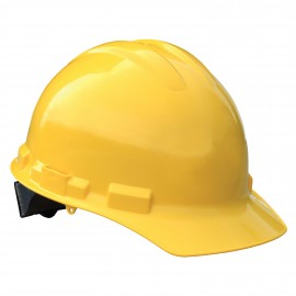 Radians Granite Cap Style 6 Point Ratchet Suspension Hard Hats Yellow Color  (1 Each)
