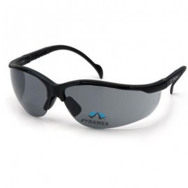 Pyramex Venture II Bifocal Safety Glasses - Gray Lens 12/Box