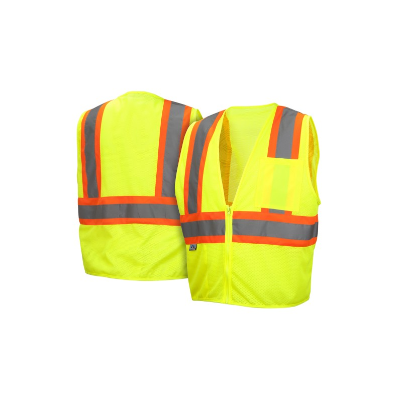 Pyramex Safety Products RVZ22SE Series Self Extinguishing Safety Vest - 5/ Each