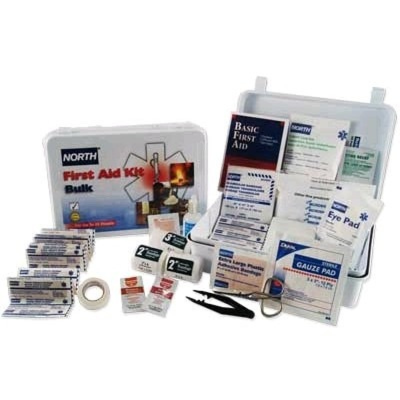 North Bulk First Aid Kit - 25 Person