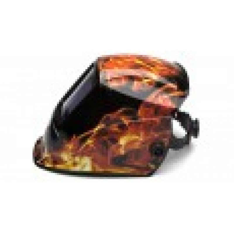Pyramex Welding Helmet WHAM3030FL Leadhead Auto Darkening, Fire Orange (1 EA)