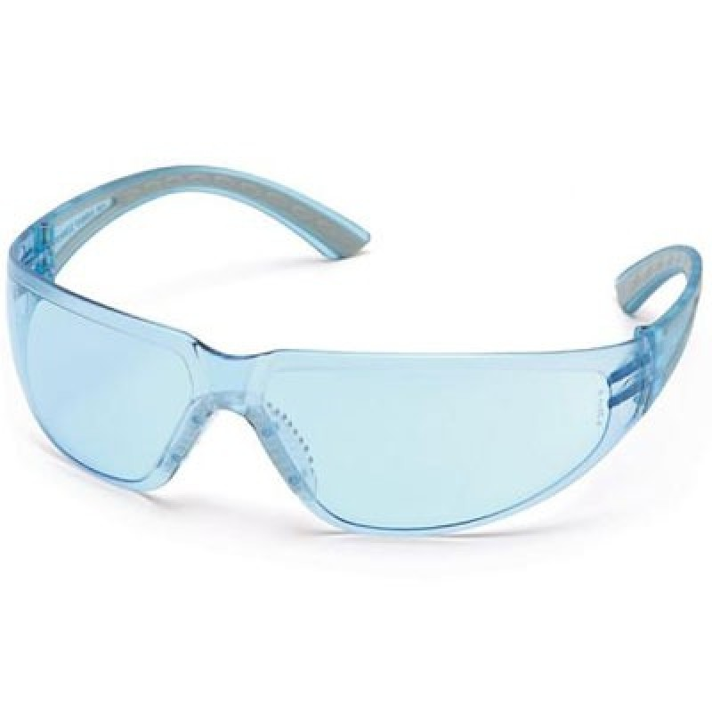Pyramex Cortez Safety Glasses - Infinity Blue Lens 12/Box