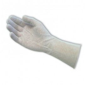14 Inch Premium Cotton Lisle Inspection Gloves